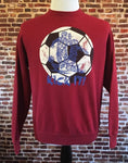 "Vintage 90's Soccer ""Kick It"" Crewneck"