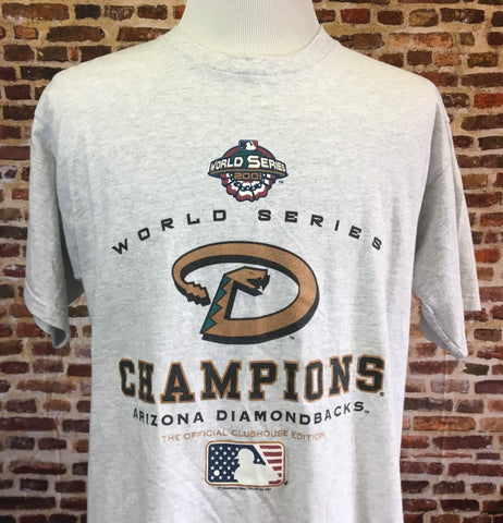 Vintage Arizona Diamondbacks 2001 World Series Champs Tee