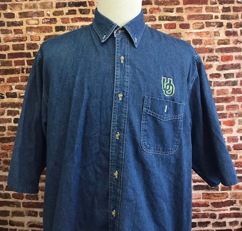 Vintage 90's Ducks Button Up Denim Tee
