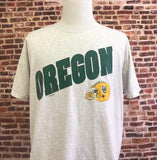 Vintage 90's OREGON DUCKS Football Men's XL Tee Shirt Rare