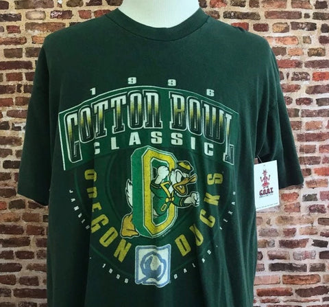 Vintage Ducks 1996 Cotton Bowl Tee
