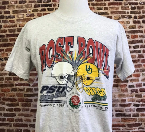Vintage Ducks Football 1995 Rose Bowl Tee