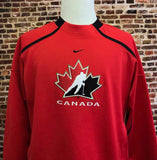 Vintage CANADA HOCKEY Men's Large Sweatshirt made by Nike RARE