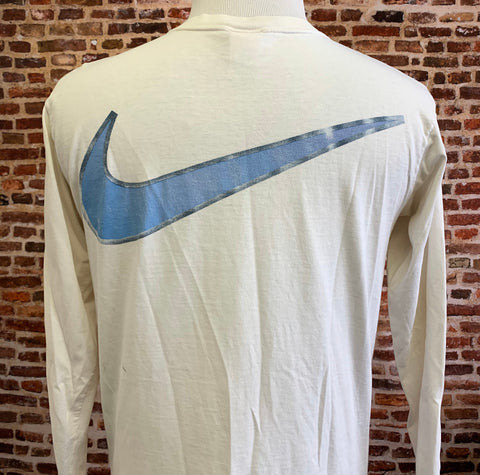 "Vintage 90's Nike ""Swoosh Collection"" Men's Large  Long Sleeve Shirt Rare"
