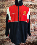 Vintage Manchester United Men's XL Windbreaker Jacket made by Umbro Jacket RARE