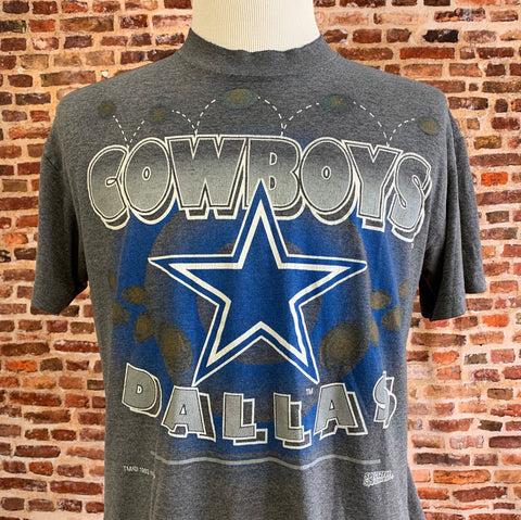Vintage 80's DALLAS COWBOYS Men's Large Tee Shirt RARE