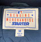 Vintage 90's SEATTLE MARINERS Men's Medium Puffer Jacket RARE made by Starter