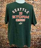Vintage SEATTLE STORM Lauren Jackson Men's 2XL Tee Shirt RARE