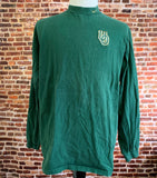 Vintage 90's Nike OREGON DUCKS Men's XL Long Sleeve Mock Neck Shirt