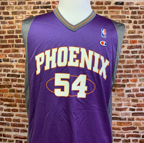Vintage 90's PHOENIX SUNS Rodney Rogers Men's Medium (Size 40) Jersey RARE made by Champion