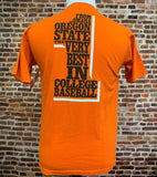 Vintage OREGON STATE Beavers 2006 Baseball Champs Men's Small Tee Shirt Rare made by Nike