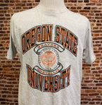 Vintage 90's OREGON STATE Beavers Men's Large Tee Shirt RARE made by Jansport