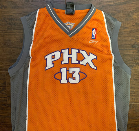 Vintage Steve Nash PHOENIX SUNS Youth XL (18-20) Swingman Basketball Jersey Rare made by Reebok