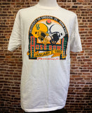 Vintage 90's OREGON DUCKS Football Men's 2XL 1995 Rose Bowl Tee Shirt RARE made by Russell Athletic