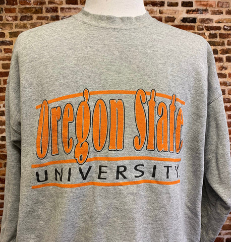 Vintage 90's Oregon State Beavers Men's XL Crewneck Sweatshirt RARE