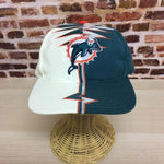 Vintage 90's MIAMI DOLPHINS Shockwave Hat made by Starter RARE