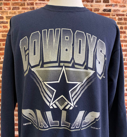 Vintage 90's DALLAS COWBOYS Men's XL Pullover Crewneck Sweatshirt