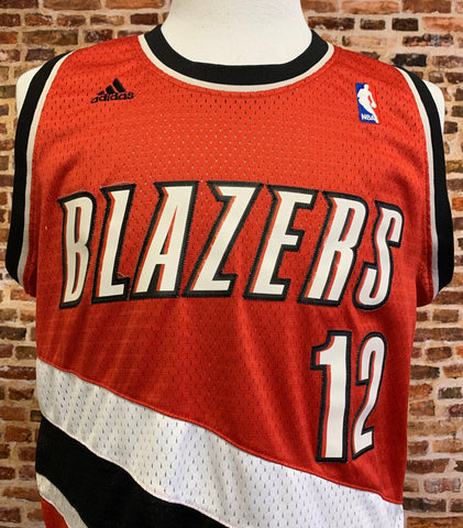 Vintage Lamarcus Aldridge PORTLAND TRAIL BLAZERS Men's Medium Stitched Swingman Jersey made by Adidas