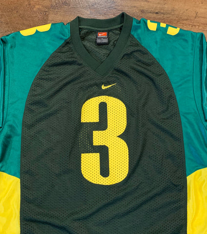 Vintage 90's JOEY HARRINGTON Oregon Ducks Football Youth XL Jersey Rare made by Nike