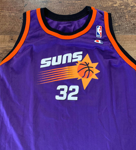 Vintage 90's Jason Kidd Phoenix Suns Men's Youth XL Basketball Jersey RARE made by Champion