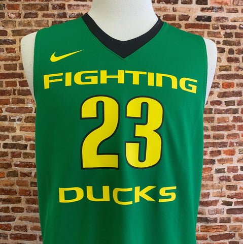 Elgin Cook OREGON DUCKS Basketball Men's Medium Jersey RARE made by Nike