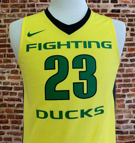 Elgin Cook OREGON DUCKS Basketball Men's Small Jersey RARE made by Nike
