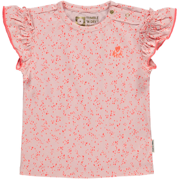 T-shirt Mirte rose