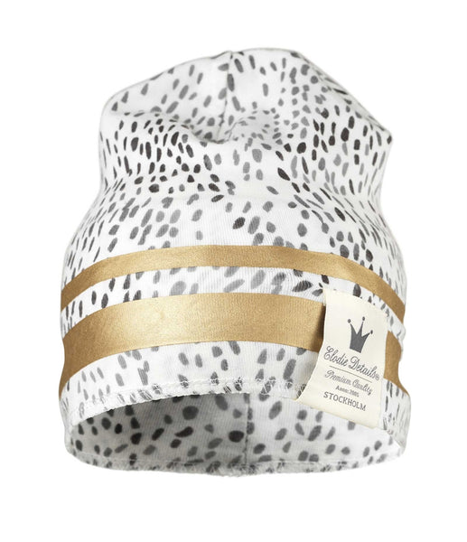 Bonnet hiver Gilded Dots of Fauna