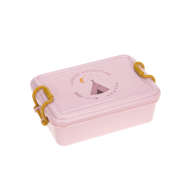Lunchbox adventure tipi pink