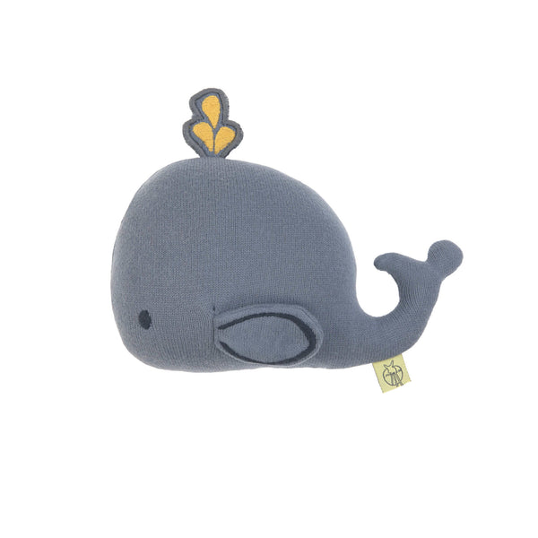 Hochet tricoté, Little Water Baleine