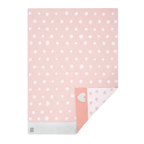 Couverture LELA light pink, 75 x 100 cm