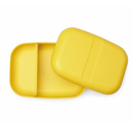 Lunch box rectangulaire - Jaune Lime