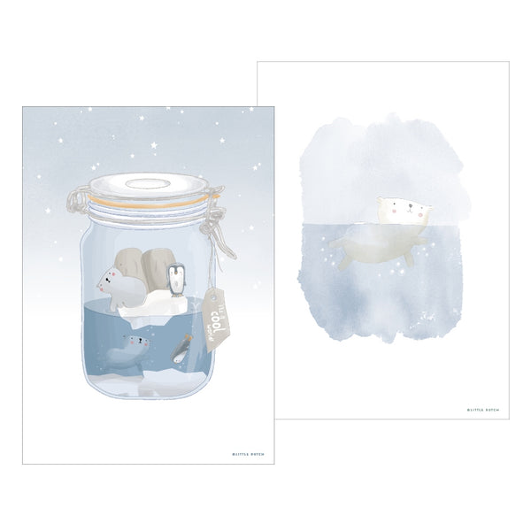 Affiche A3 Mini Polar Jar