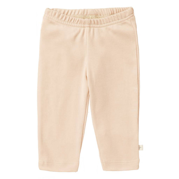 Pantalon uni pale peach