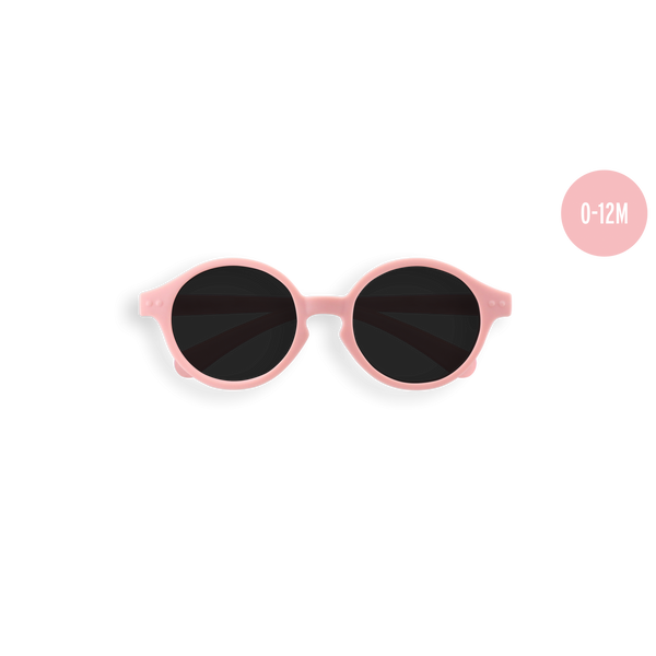 Lunettes #SUN baby pastel pink 0-12m