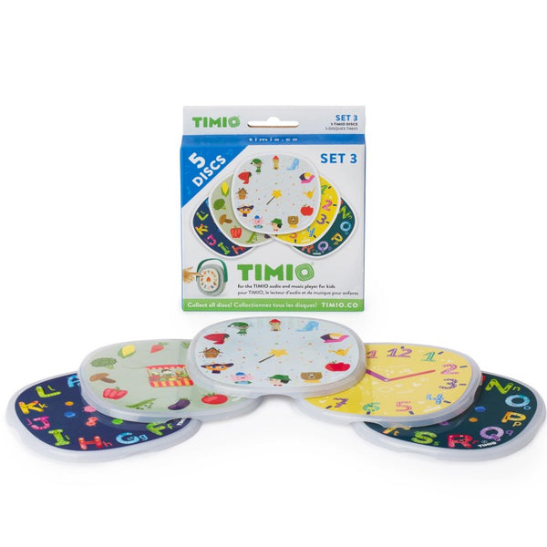 Disc Pack Set 3 Timio