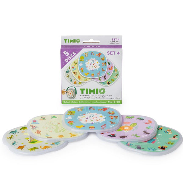 Disc Pack Set 4 Timio