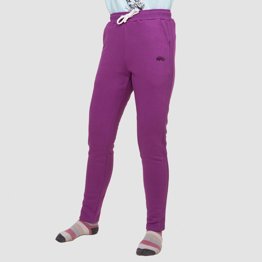 Purple - Winter Sweatpants