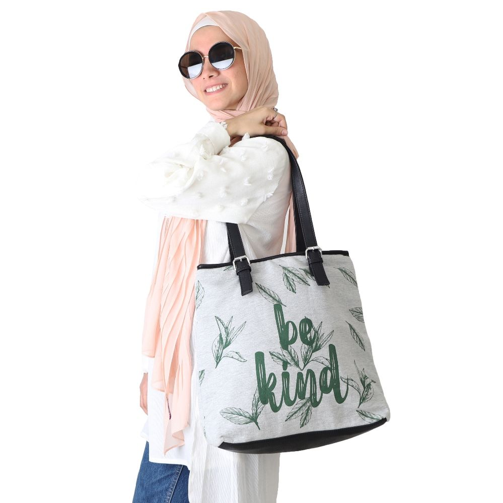 Be Kind - Melton Handbag