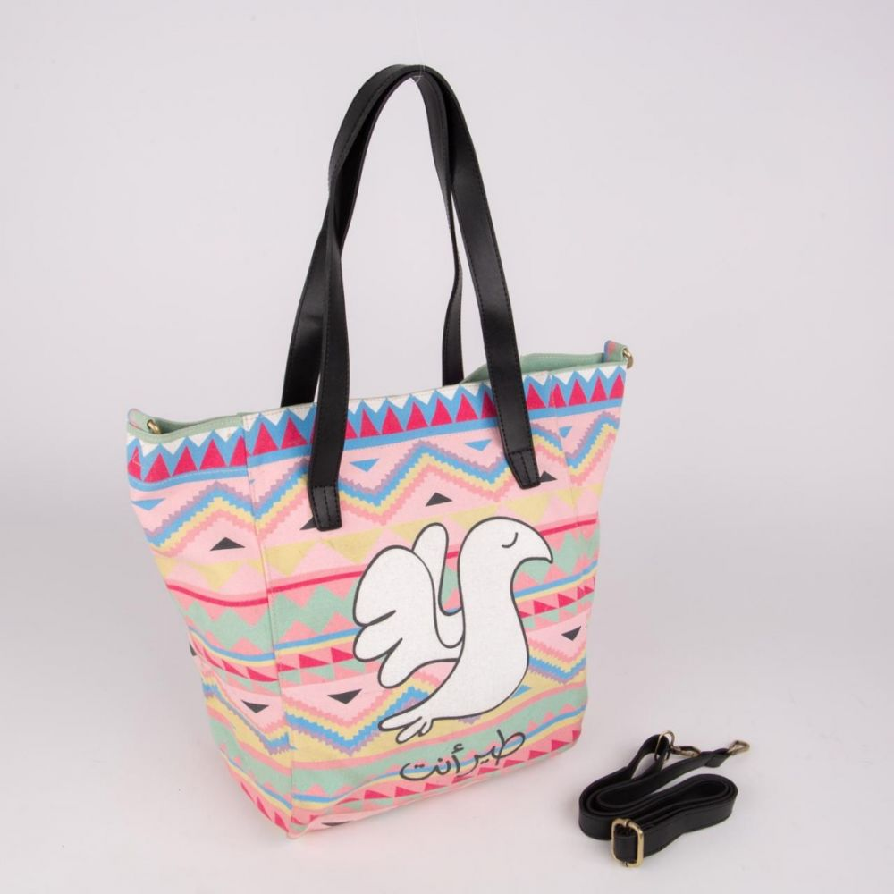 Teer Enta - Canvas Handbag