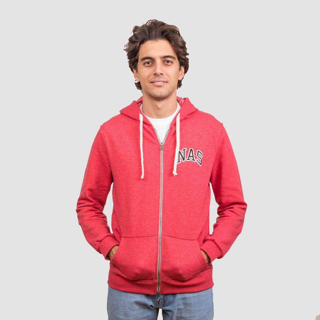 Basic Zip-Up - Scarlet Sage