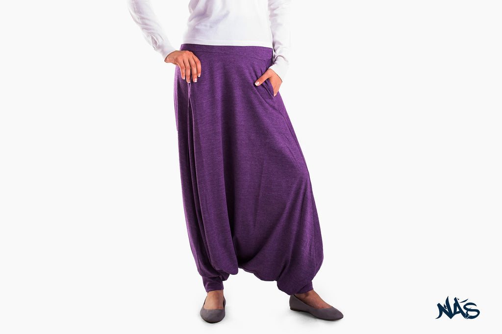 Basic Skirt Pants - Violet
