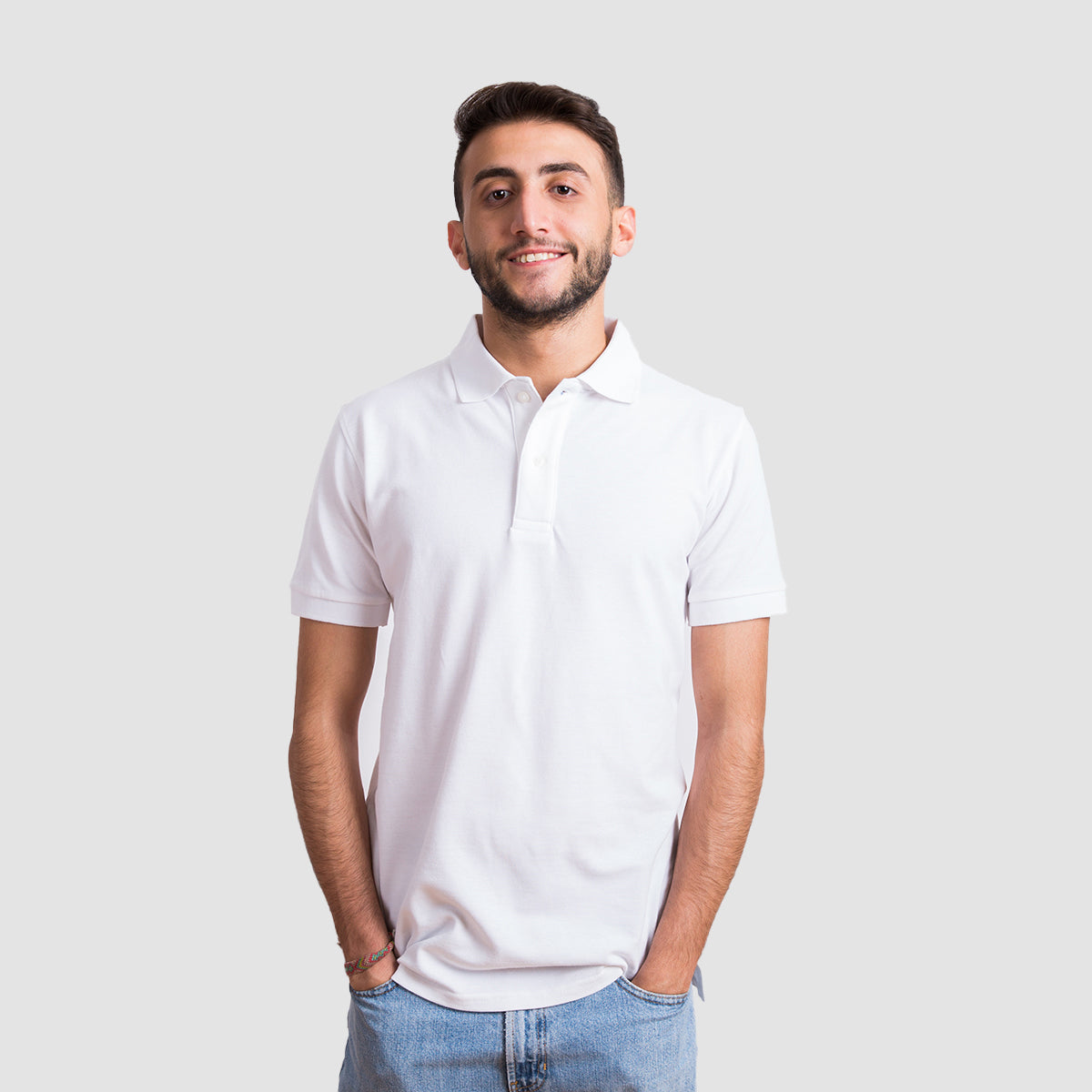 Basic Polo - White