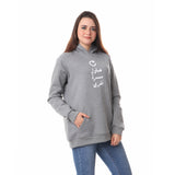 Try Again Hoodie - Heather Grey