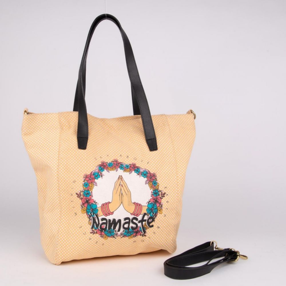 Namaste - Canvas Handbag
