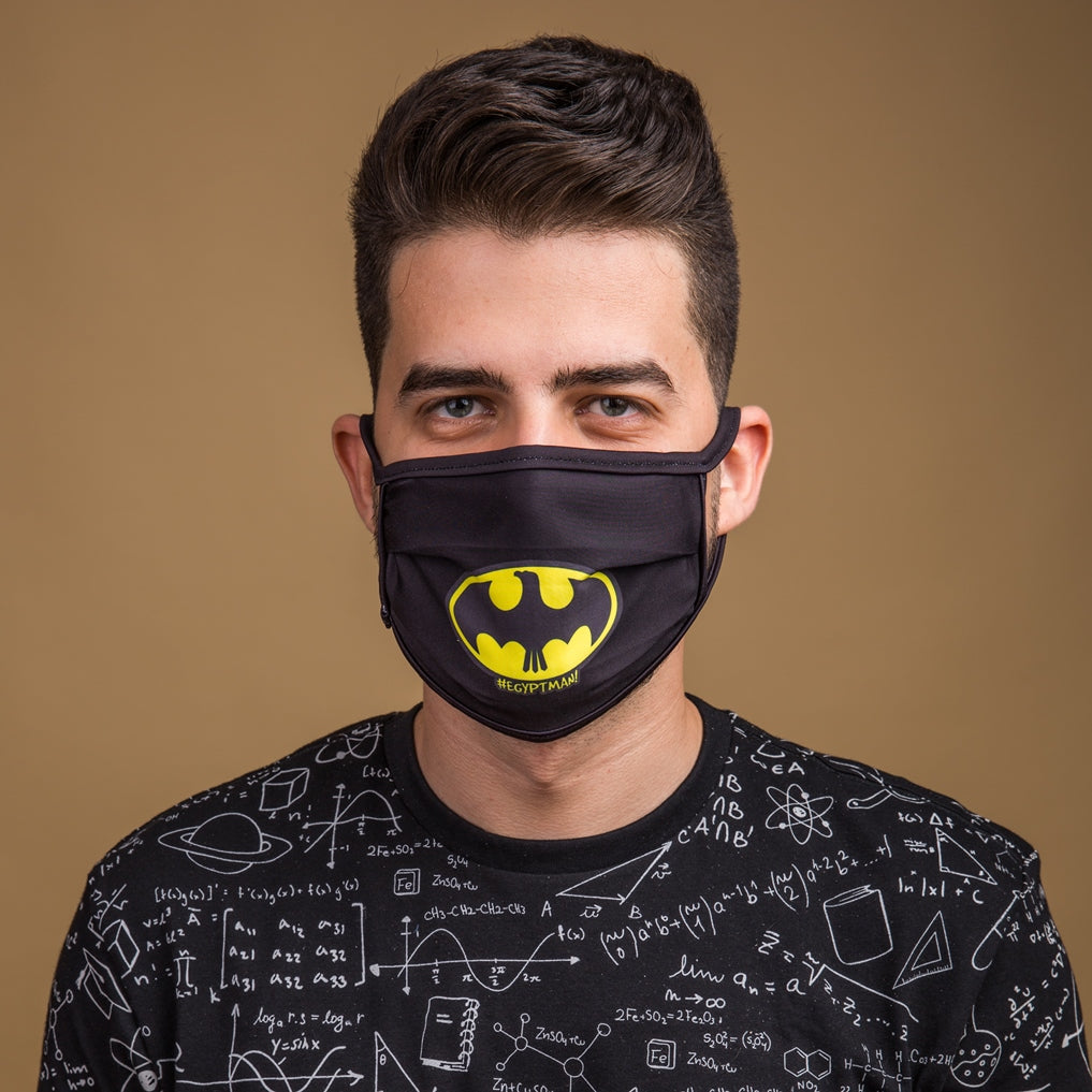 Egyptman Face Mask Black