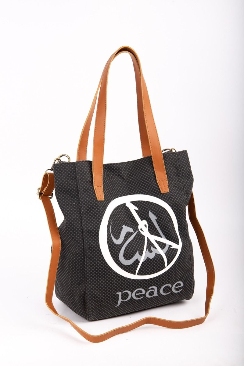 Peace - Canvas Handbag