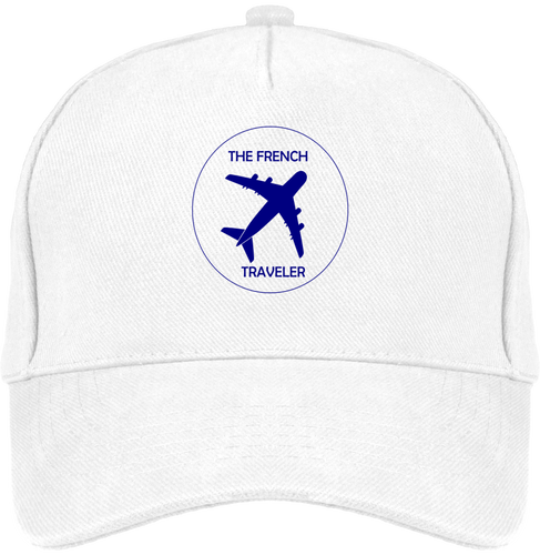 Casquette THEFRENCHTRAVELER en coton BIO - The French Traveler Store