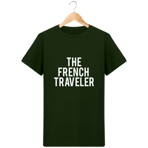 T-Shirt Col Rond THEFRENCHTRAVELER - The French Traveler Store