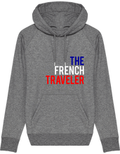 Charger l'image dans la galerie, Hoodie Sweatshirt - THEFRENCHTRAVELER - TRICOLORE - The French Traveler Store